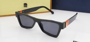 Lentes de sol gafas de sol de lujo Marca de moda para los hombres Mujer de cristal rectangular de conducción UV400 Adumbral con la caja 2368 7Color alta calidad