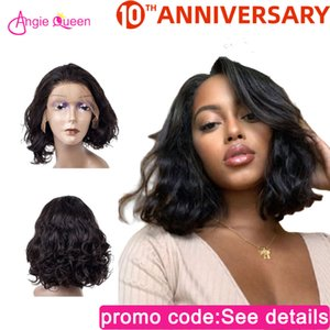 Lace Front s Body Wave lace front hair 150% Malaysian Remy Hair human wigs closure Wig bob wig 100%
