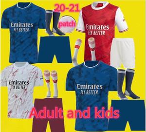 más nuevos adulto y niños uniformes 2020 2021 equipos de fútbol Arsen fútbol Jersey 20 21 TIERNEY HENRY GUENDOUZI camiseta de fútbol soccer