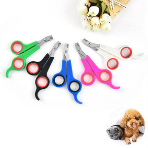 Stainless Steel Pet Nail Clipper Dog Cat Nail Scissor Trimmer Pet Nail Claw Trimmer Grooming Scissors Cutter Pets Health LJJP24