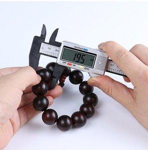 150mm LCD numérique Caliper électronique numérique Vernier Caliper plastique Vernier Caliper avec micrométrique de jauge de batterie outil de mesure