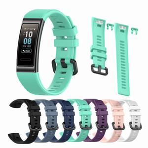 Elektronik Akıllı Bilezik Bilek Kayışı İçin Huawei 4 Pro sapanlar Silikon Watch Band İçin Huawei Honor Band 3 Pro Yedek Bilek onsumer ...