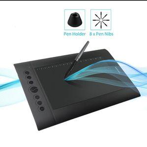 Huion H610 Pro V2 Grafik Çizim Tablet Android Desteklenen Kalem Tablet Tilt Fonksiyonu Pilsüz Stylus 8192 Kalem Basıncı