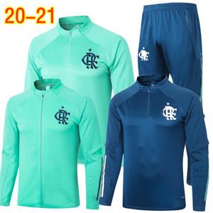 2020 DIEGO Brazilian League Tracksuits Flamengo Soccer Jersey Set Adult 20 21 GABRIEL Football Jacket Pants GUERRERO BARBOSA Training Suit