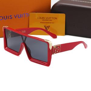 Popolare di moda occhiali da sole donne semplici fritte occhiali da sole 831 grande cornice quadrata uomini di stile di design unisex di guida galsses spiaggia occhiali