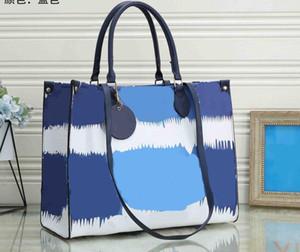Pelle Donna Tie Dye borsa della borsa OnTheGo GM frizione Tote MM ESCALE SPEEDY Crossbody PU Evening Bag Shopping Shoulder Bag