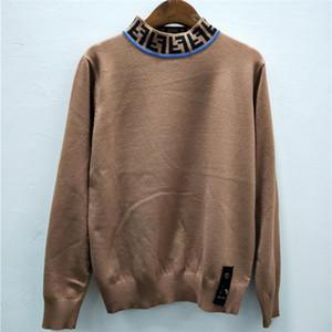 Jerseys Carta mujeres suéter del invierno del otoño de las mujeres s impresión de cuello alto mujer tops sudaderas Mujer suéter con capucha de manga larga