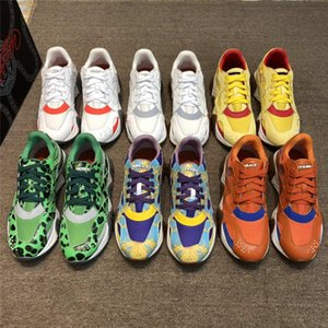 2020 Nouveau versace défilé de printemps de la réaction en chaîne des modèles de vieux couple de chaussures versace de plate-forme avancée versace sneakers EUR35-46 01