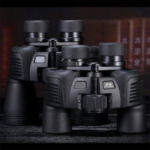 Waterproof Multiple 8x40 Zoom Binoculars Professional Outdoor Camp Telescope Large Eyepiece Low Light Night Vision Aluminium Alloy 32lj O1