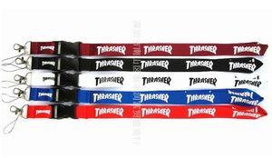 SPEDIZIONE GRATUITA Hot 20pcs / lot Thrasher Lanyard per MP3 / 4 telefono cellulare catena chiave cordini all'ingrosso L001