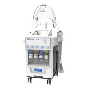 12 in 1 di ossigeno vendite calde macchina facciale Spa Jet Peel ringiovanimento della pelle del viso sbiancante ossigeno macchina di terapia