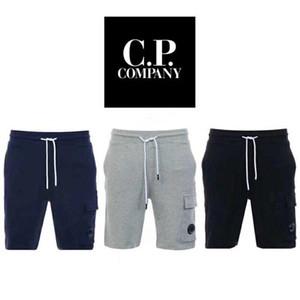 C.P şirket Capris Casual pantolon giyim Saf renk quintuple pantolon Saf Pamuk tek Pocket Şort orta Pantolon mens