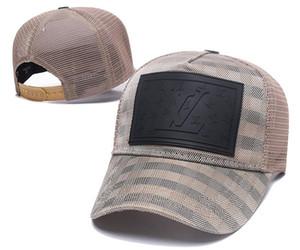 أعلى خيارات التصميم شعبية العلامة التجارية الفاخرة Caps Letters رمز ICON أعلى جودة العلامة التجارية قبعة رمز قبعات البيسبول للنساء الرجال