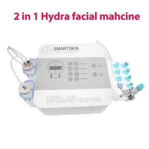hidra portátiles de infusión hydrodermabrasion facial máquina de oxígeno y exfoliación suave para el salón de belleza spa uso en el hogar