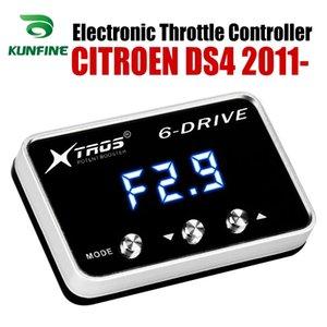 CITROEN DS4 2011 2012 2013 2014 Tuning Parça Aksesuar için Araç Elektronik kısma Kontrolörü Yarışı Hızlandırıcı Güçlü Booster