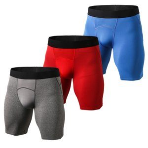 tight-fitting sports men's quick-drying shorts stretch riding cycling exercise fitness sweat quick-drying men's shorts