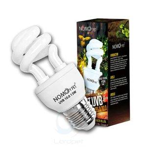 10.0 UVB 13W 콤팩트 빛 형광 사막 테라리움 램프 전구 파충류