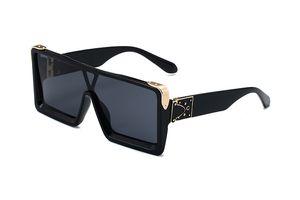 Un pezzo Forma Uomini Occhiali da sole estate Superficie Occhiali da sole donne Moda OVERSISE spiaggia 3 colori occhiali stili popolari signore UV400 Occhiali da