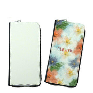 Zipper Sublimation Blank Heat Transfer Creative Pictures Print Full-circle Personalized Gift Wallet MDF Be Can Wallet Zipper Printed Ly Wvgo