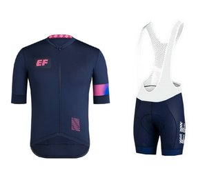 2019 EF EDUCATION FIRST PRO TEAM 2 COLORS SHORT SLEEVE CYCLING JERSEY SUMMER CYCLING WEAR ROPA CICLISMO + BIB SHORTS 3D GEL PAD SIZE: XS-4XL
