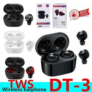 DT-3 جديد TWS سماعة بلوتوث 5.0 سماعات الأذن سماعات لاسلكية للماء سماعة الرياضة الألعاب سماعة لالهواتف الذكية