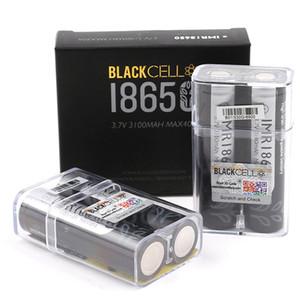 100% de la cellule noire de haute qualité 18650 batterie 3100mAh IMR 3.7v 3100 40a e cig Recharge de piles au lithium recharge