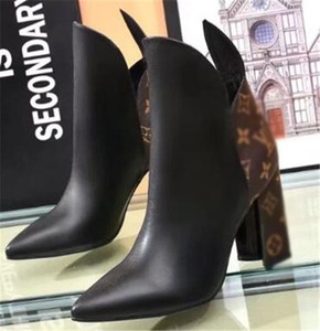 03t latest hot women World Tour Desert Boot women high quality Platform Boot Spaceship Ankle Boots Heel medal fashion martin boots