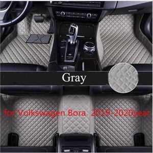 pour Volkswagen Bora 2019-2020year antidérapante tampon non toxique pied de voiture tapis de pied