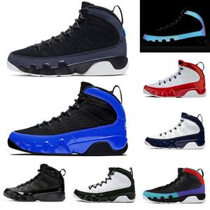 air jordan retro 9 sapatos mens basquete 3M Racer azul novo jumpman 9s Gym Red Sneakers sonhar fazê-lo OG formadores Space Jam Tamanho EUA 7-13