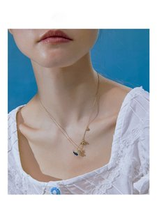 Collana in argento Unicorn Collana Argento animale Serie S925 Fashion- 2020 delle donne con scatola regalo