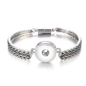 Magnet Bohemian Bracelet Watches Women Jewelry One Direction Pulseras Newest Vintage 18mm metal Snap Buttons Bracelet