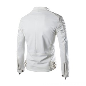 2015 Western Style Men Elbow Lagging Extra Short Men's Outerwear & Coats Men's Clothing Maneuvering Leather Coat Versatile Coat