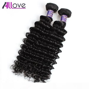 Deep Wave Virgin Hair Extensions Wholesale Cheap 8A Brazilian Hair Wefts 5Bundles Unprocessed Human Hair Bundles Peruvian Indian Malaysian