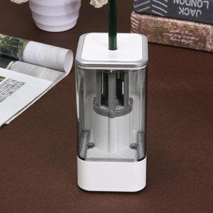 Taille-crayon électrique de haute qualité automatique électronique et un trou Plug in utilisation sécurité pour enfants fournitures de papeterie