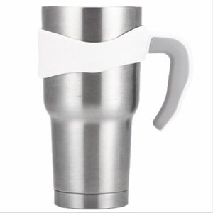 Suporte de mão portátil de 30 oz para copos punho de plástico para copos de aço inoxidável de 30 oz canecas canecas novo estilo