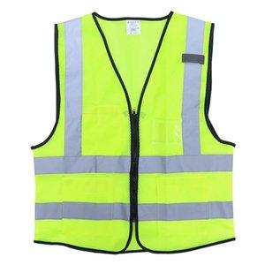 Maniche molle di alta visibilità di equitazione per l'abbigliamento giubbotto riflettente per i lavoratori all'aperto