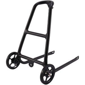 En alliage d'aluminium Q Type vélo Porte-bagage pour Brompton avec Easy Roues Porte-vélos bagages étagère Accessoires Vélo
