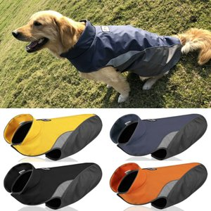 Fleece Warm Pet Dog Coat Autumn Winter Jacket Clothes Free Shipping Sweater Waterproof Apparelv Dog Trench Dog Apparel
