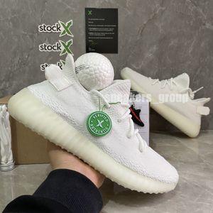 Top-Qualität Turnschuhe Erde Wüste Sage Kanye West V2 3M Schwarz Reflective Static Cinder Jechiel Rücklicht Creme Weiß Sport-laufende Schuhe