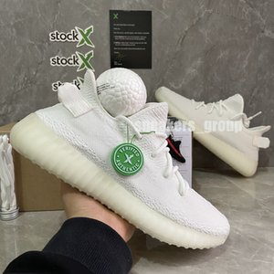 Top Quality Sneakers Desert Terra Sábio Kanye West V2 3M reflexivo preto estática Cinder Yechiel Luz Traseira creme branco Esportes Running Shoes