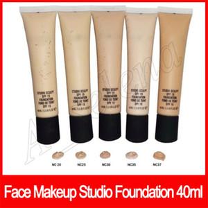 Professionelle Gesicht Make-up Studio Foundation Sculpt Flüssige Foundation Langlebige Fond de Teint 40ML NC15 NC20 NC25 NC30 NC35 NC37 NC40