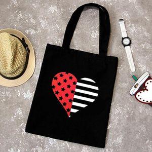 Le donne portatili della tela di canapa borse Beach spalla Shopping Bags Tote di corsa Picnic Lunch Bag