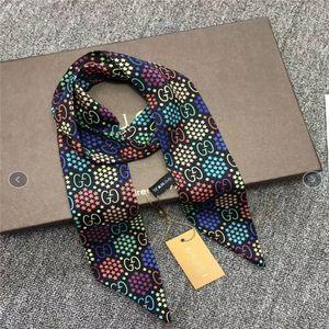 2020 New designer Silk Handbag Long Scarf shawl for Women High Quality Italy Louìs Vuìttõn Silk Scarves small scarfs for Bag Head scarf