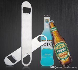 Stile semplice bottiglia di birra in acciaio inox opener creativa forma ovale della bottiglia sospensibilità striscia apri Free shipping