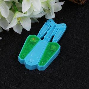 Hot Sell 2019 Children PVC Butterfly Knife Flipper Flip Toys with LED 100 Tricks Master Light Up Finz Toy Fun Twirl It