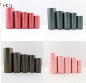 25pcs High Quality Kraft Paper Box for Essential oil Bottle Coffee Bean Packaging Box Paper Jars 50ml 100ml Large