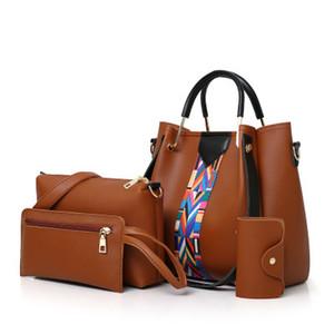 Il pacchetto di modo femminile di nuovo modo di sacchetto portatile più colori delle donne una spalla Cross-body multi-pezzi bag Mother-in-law in tre pezzi