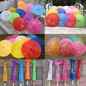 Японский китайский Восточный зонтик свадебный реквизит ткань Зонтик для партии фотографии украшения зонтик конфеты цвета пустой DIY персонализировать