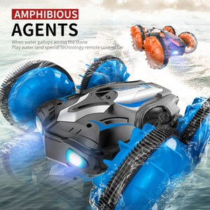 JJRC C10 RC Remote Control Water & Land 3D Flip High Speed Stunt Drift Crawler Battery Operated Car radio controlled machine Y200414