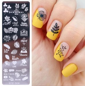 Hot Health Beauty Nail Art Stamp Nail Stamping Template Flower Geometry Animals DIY Nail Designs Manicure Image Plate Stencil